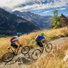 Mountain biking tours Gavarnie