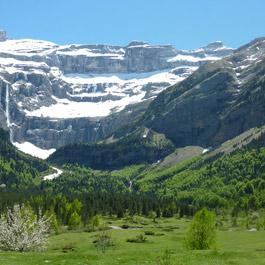 The Gavarnie Cirque in summer