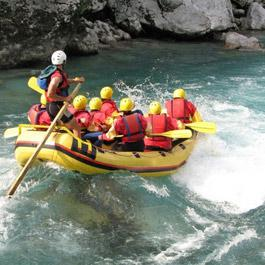Canyoning and rafting