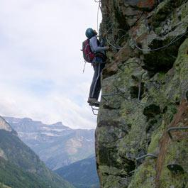 Via Ferrata of Coumely - Pyrenees Gavarnie