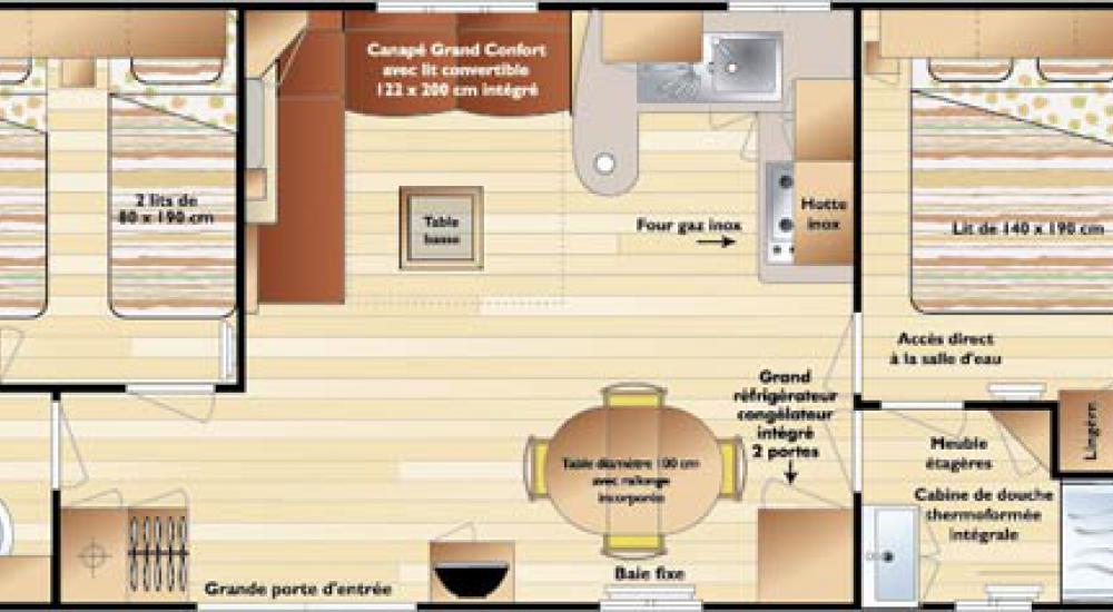 Plan mobil-home standard