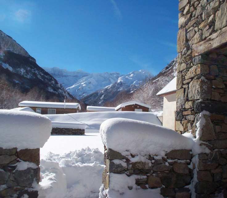 Camping caravaneige Le Pain de Sucre Gavarnie Hautes Pyrénées